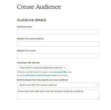 audience-mailchimp